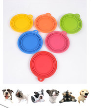 Portable Travel Folding Retractable Silicone Pet Water Food Feeding Bowl
