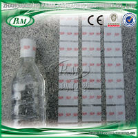 Customized plasticke water bottle neck shrink sleeve