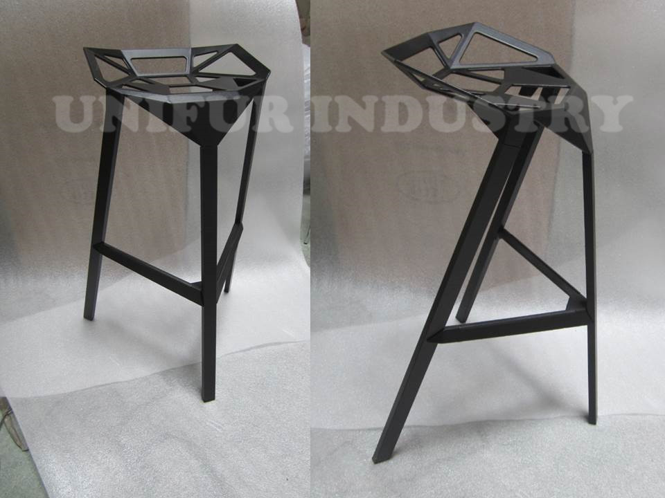 aluminium ext rieur tabourets de bar replica magis style. Black Bedroom Furniture Sets. Home Design Ideas