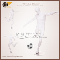 2015 football soccer mannequin in loutoffdisplay SP01