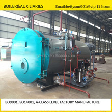 WNS industrial steam boiler gas 4ton gas fired steam boiler oil field steam boiler