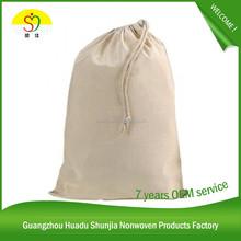 Logo <span class=keywords><strong>promocional</strong></span> impreso de algodón blanco de algodón bolsa