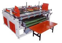 new and high speed machine/paperboard corrugated folding gluing/box semi-automatic machine