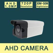 AHD Camera2100PA-E-A2 1/4'' CMOS Sensor 1.0MP IR-Cut Filter AHD Camera Camera 720P Indoor / Outdoor Waterproof 1080P Security Ca