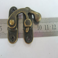 Decorative Swing Latch metal lock for book and dairy