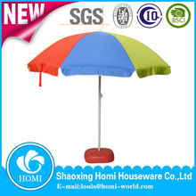 Chinese Outdoor Advertising Wind Resistant Folding Beach Umbrella