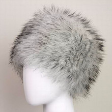 2015 New Hot Product Faux Fur Husky Winter Warm Soft Ski Hat Cossack Cap