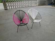 Lovely rattan outdoor/bedroom/garden furniture egg chair used handmade
