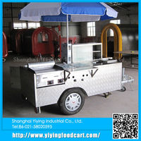 YY-HS200A Most popular electric hot dog/hamburger mobile kitchen hot dog cart