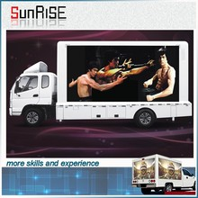 Beauty and top after-sale service outdoor flexible led truck display DIP/SMD P6mm P8mm P10mm