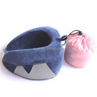 NEW roll up a ball portable travel neck pillow for airplanes