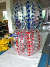 PVC/TPU human bumper ball,inflatable bumper ball/body zorbing bubble ball,bubble football in toy balls