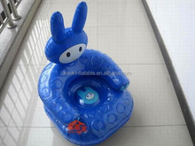 New design inflated baby seat pvc air sofa chair for kids as gift