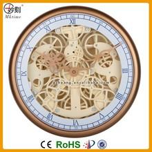 most popular skeleton plastic gear clock