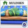 Mulinsen textile poplin fabric new design 100% cotton hawaiian print fabric
