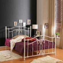 Elegant iron bed with powder coating finish