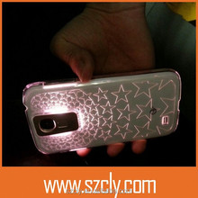 New Arrival Wholesale Call Come Flashing Creative Cellphone Case for Samsung S4
