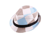 Blue color Children's Formal Hats hotsale children formal hat wholesale hats NO.0218