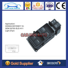 high quality power switch for Honda ODYSSEY 2010-2014, power window switch for HONDA ODYSSEY 2010 TO NOW 35750-SLG-H11