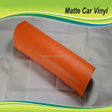 Matte Orange Car Wraps Vinyl,Matte Vinyl Car Wrap,Auto Vinyl Wrap With Air Release