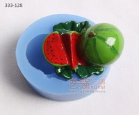 watermelon shaped silicone cake mould,silicone cake mould fruit,funny shape silicone cake mould