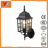 Vintage Retro style Industrial Cage Wall Light Fixtures Mounted Lamp Decorative Light, LED Wall Light