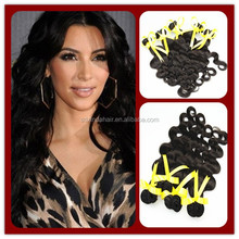 Factory Price 10- 30 inch Wholesale virgin brazilian hair extensions
