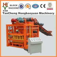 Hydraulic pressure Auto Unburned Brick Making Machine QTJ4-28 With Government Authorized manufacturer