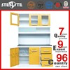 Aluminium kitchen cabinet/modular kitchen cabinets/metal kitchen cabinets