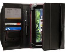 Hot sale with notebook pu leather portfolio case for ipad
