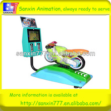 "15""LCD motorbike coin operated kid's ride game machine"