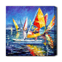 High quality sea landscape oil paintings sea and ships