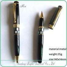 pair of metal pen,factory price heavy metal new design copper pen