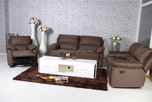 Air Leather Sofa Chair Indoor Furniture Leather Sofa Chair , Recliner Swing and Rocker