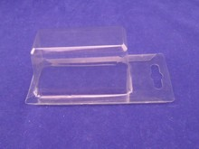 Disposable plastic tray for card