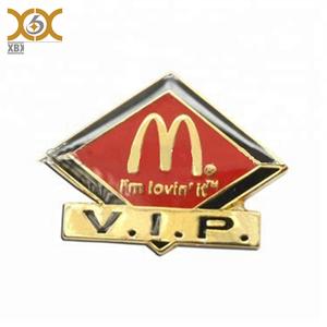 Personnalisé métal badges pin, émail kfc pin badge