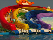 Double Way Inflatable Water Slide, Water Slide game for sale