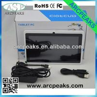 7 inch allwinner a13 cheapest tablet pc adobe 10.1 flash