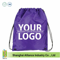 Waterproof Outdoor Sports Beach Gym School Drawstring Backpack Tote Bag