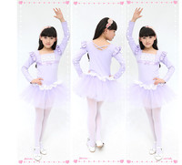 Children dance clothes dance ballet skirt and girls costumes Latin dance dress