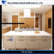Artificial Marble Kitchen Cabinet/Kitchen Countertop/Kitchen Sink