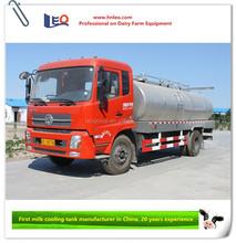 Milk truck for transportation milk