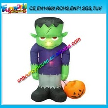 Custom halloween inflatable ghost with LED for decoration, inflatable ghost for halloween