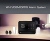 2015 newest design WIFI alarm system hot security product!!GSM burglar alarm ststem work with IP cameras
