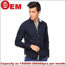 Algodón moda Casual camisas para hombre del negocio para hombre de lino shirt menor precio