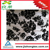 pile coating cotton check fabric