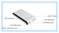 High conversion rate and Stylish appearance mobile power bank portable power bank for samsung i9300/for mp4/for mp3