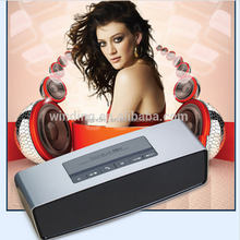 good design with square shape woofer speaker with bluetooth sound stereo