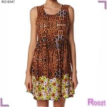 Tradicional Africana Ropa Tallas Grandes Día de diseño Verano Vestidos Casual