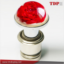 2015 New design cheap Car Cigarette Lighter With Resin Flower Decor,Wholesale Car Cigarette Lighter
